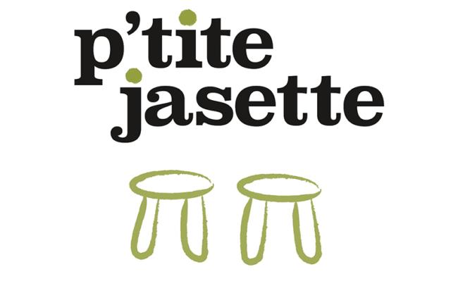Le logo de P'tite jasette